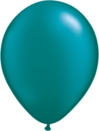 "Qualatex Pearl Teal Blaugrün 27,5cm 11"" Latex Luftballons"