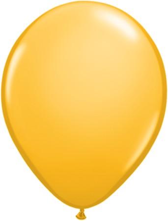 Latex Luftballons Fashion Goldenrod (Goldrute) 100St. - 27,5 cm