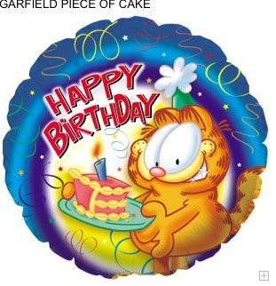 Garfield Happy Birthday Folienballon