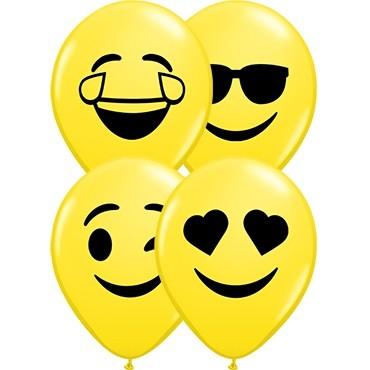 Qualatex Smiley Faces - 12,5cm