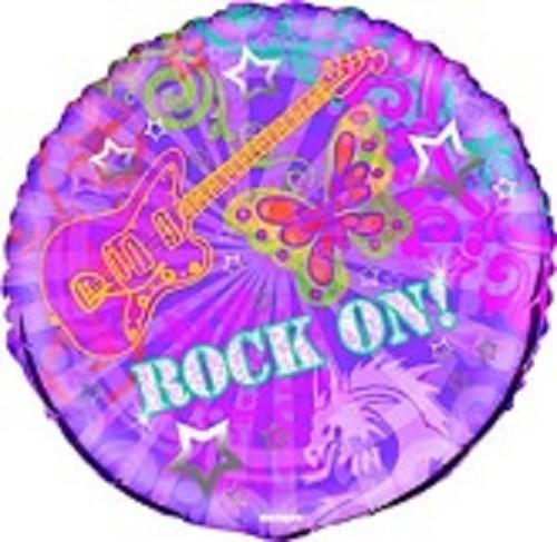 Rock On Folienballon - 45cm 18''