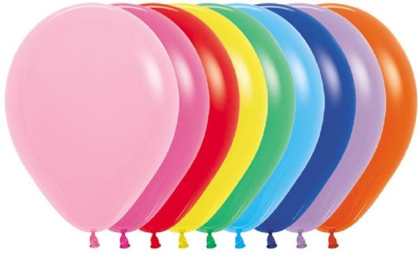 "Sempertex 000 Fashion Assorted 30cm 12"" Latex Luftballons"