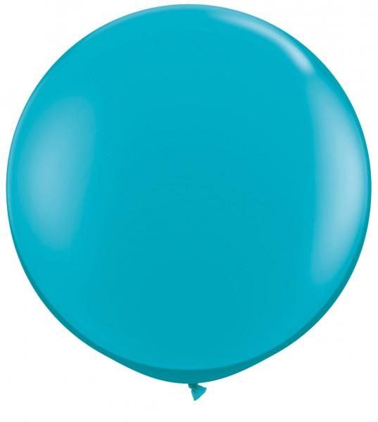 Riesenluftballon Fashion Tropical Teal (tropisches blau/grün) 90cm