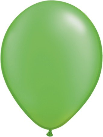 "Qualatex Pearl Lime Green (Hellgrün) 27,5cm 11"" Latex Luftballons"