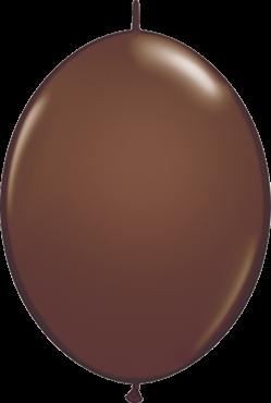QuickLink Luftballons Chocolate Brown - 15cm