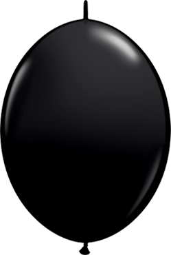 QuickLink Luftballons Onyx Black - 15cm