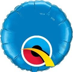 Mini Folienballon rund Türkis
