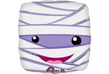 Mumie Mummy Halloween Folienballon - 45cm