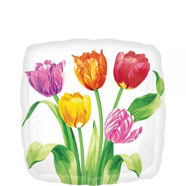 Tulpen Folienballon - 45cm