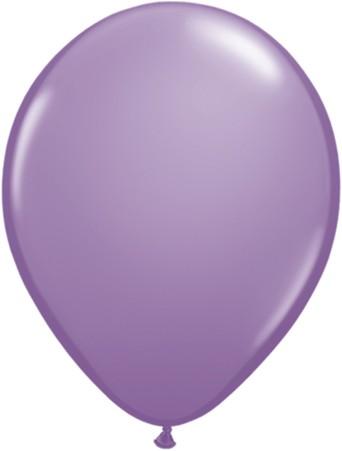 Latex Luftballons Fashion Spring Lilac (Lila) 100St. - 27,5 cm