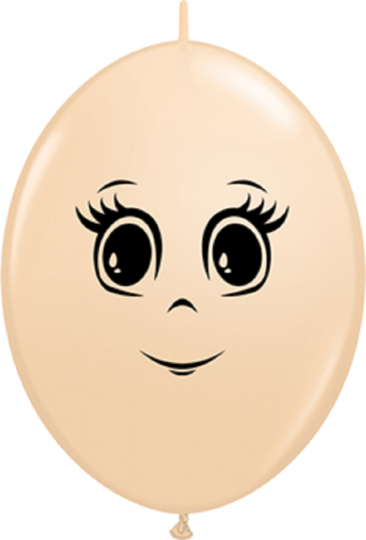 QuickLink Luftballons Feminine Face Fashion Blush - 15cm
