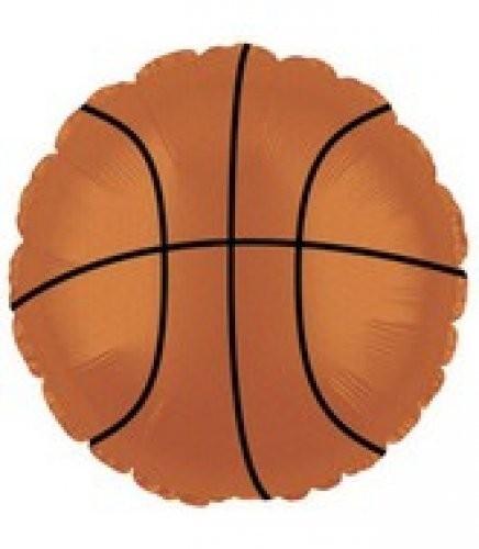 Basketball Folienballon - 45cm