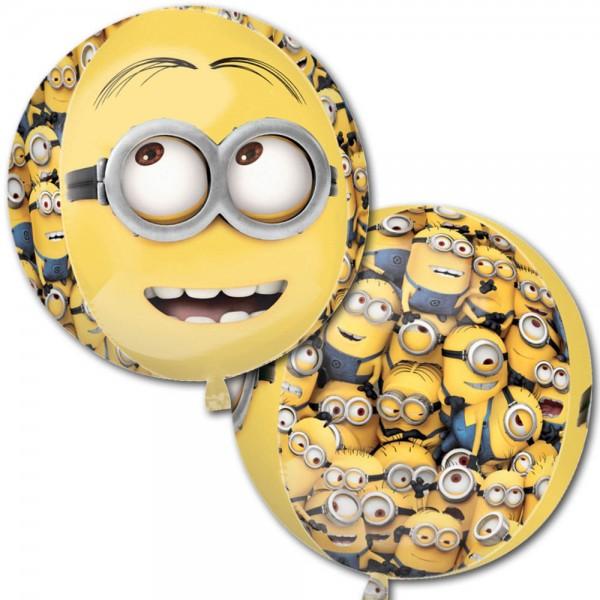 Minions Orbz Bob, Kevin, Stuart Folienballon - 38x40cm